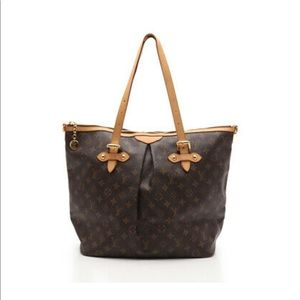 Louis Vuitton Palermo PM Purse Large Pocketbook
